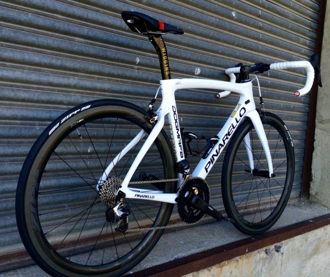 From all angles, the Dogma F8 just looks fast.