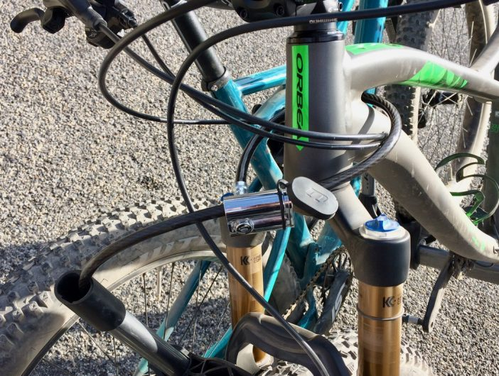 You've gotta pony up $50 for the integrated cable locks, but they are worth it.