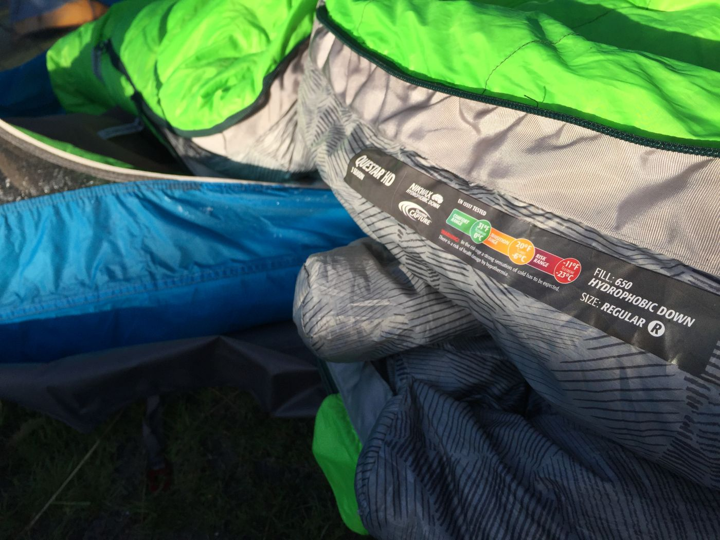 Therm-a-Rest Questar HD 20 Sleeping Bag Review ...