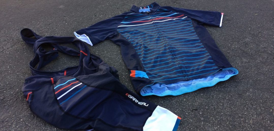 Louis Garneau Equipe Jersey and Bib Shorts