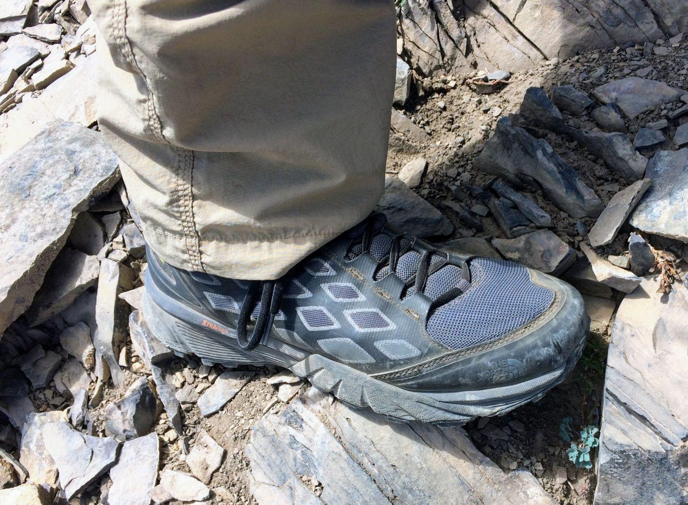 Review  The North Face Endurus GTX Hike Mid - FeedTheHabit.com 2eeed53eee2
