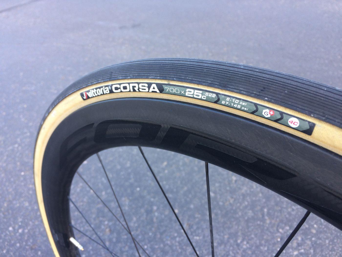 Clincher Vittoria Corsa G Plus Tire