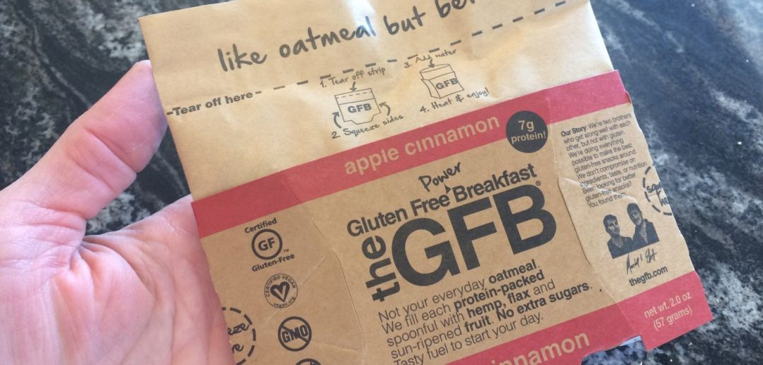 The GFB Power Breakfast - Apple Cinnamon