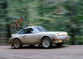 Gravel Dreams: Safari Porsche and a Cannondale Slate