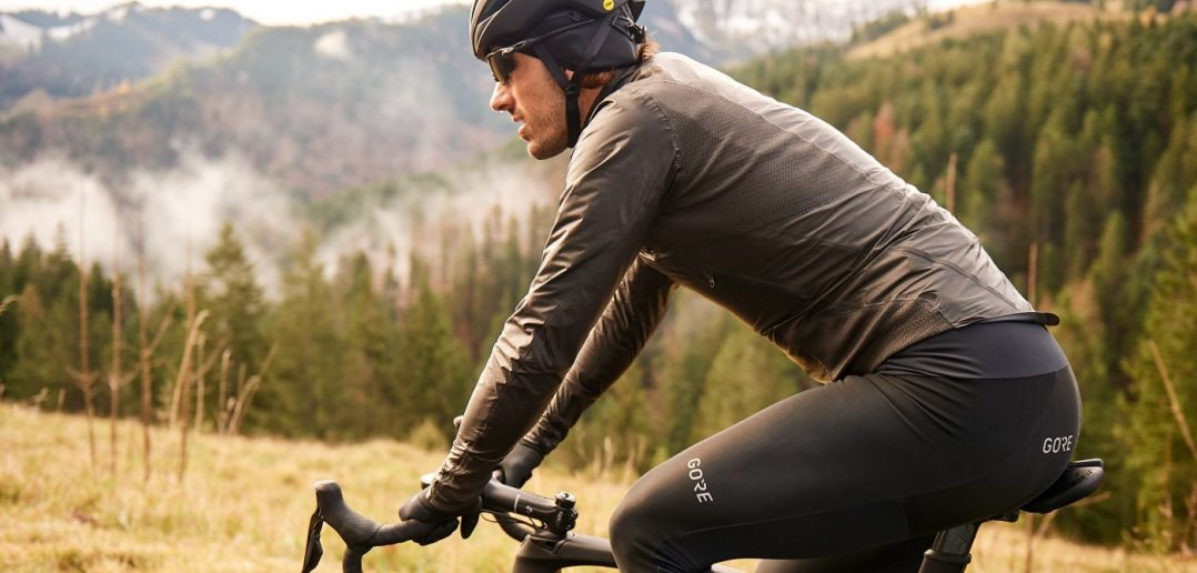 Fabian Cancellara and Gore-Tex Shakedry Stretch