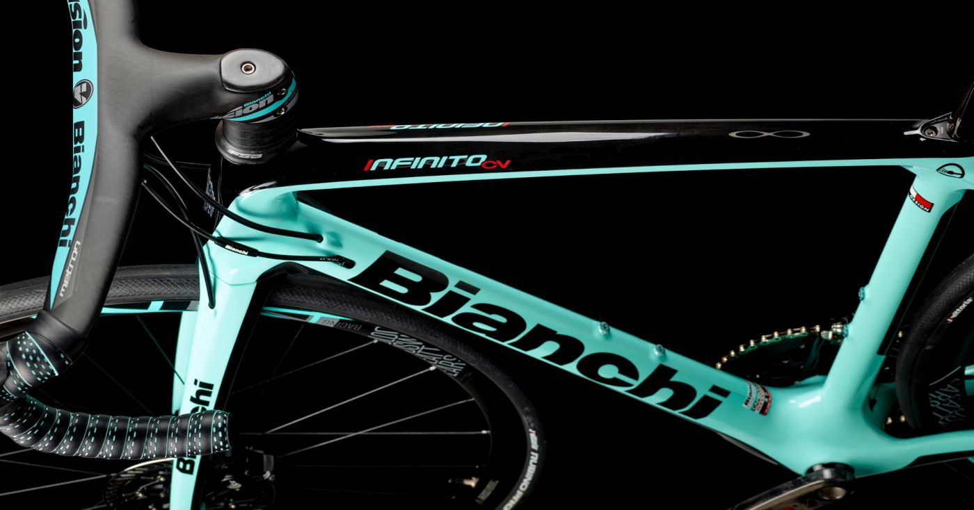 fresh wheels  2019 bianchi infinito cv disc