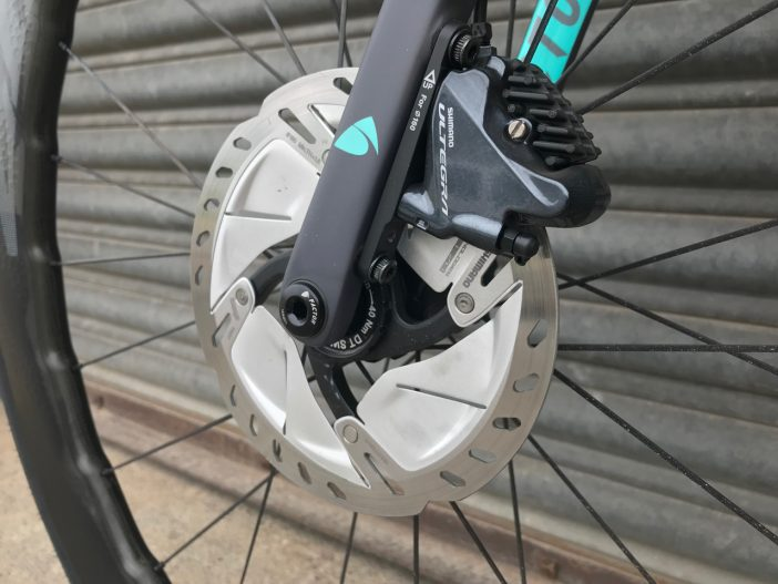 Shimano Ultegra R8000 Disc Caliper and Rotor
