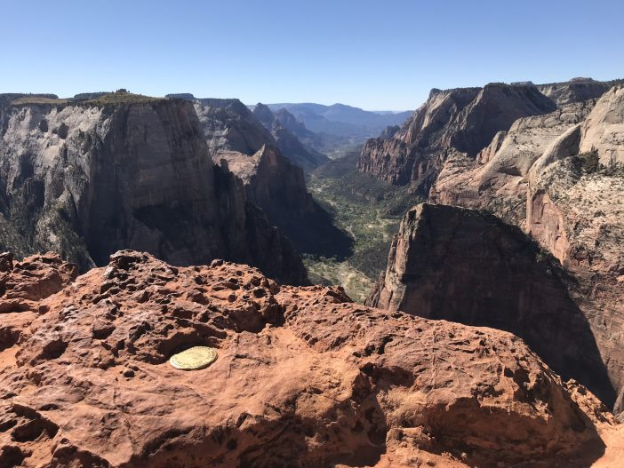 Observation Point at Zion National Park