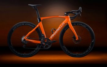 Pinarello Dogma F12 Disk in Venus Orange