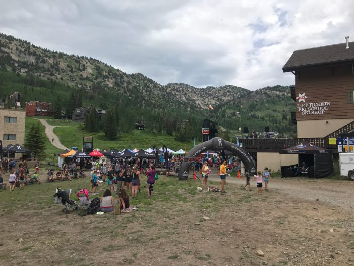 Alta Cirque Series Start/Finish and Vendor Tents
