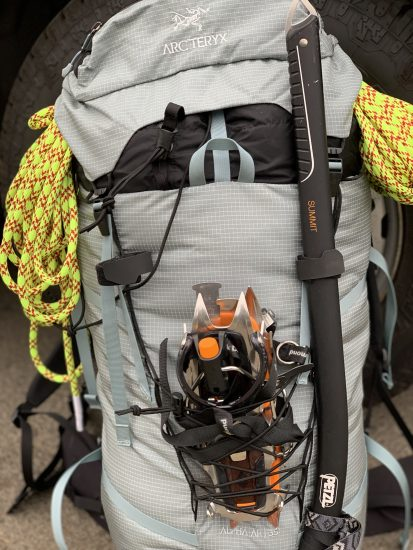 Arc'teryx AR 35 Alpine Pack Review