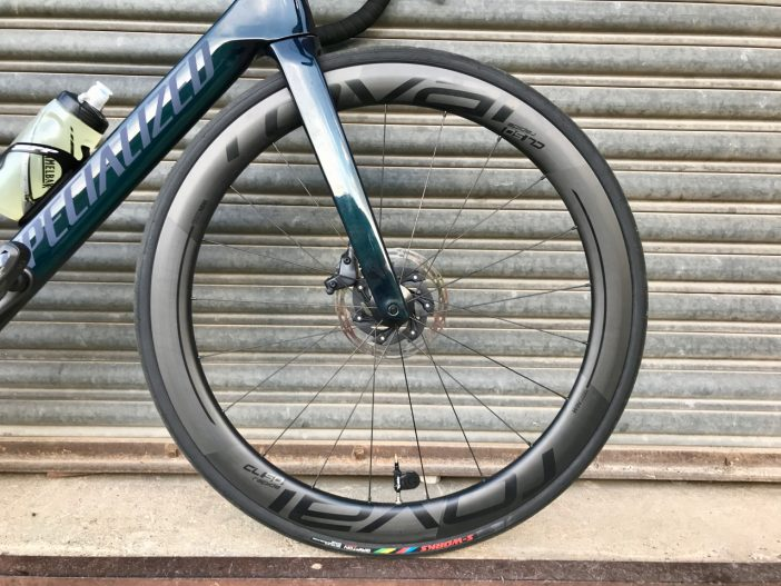 Roval CL 50 Disc Wheelset Review // Front Wheel