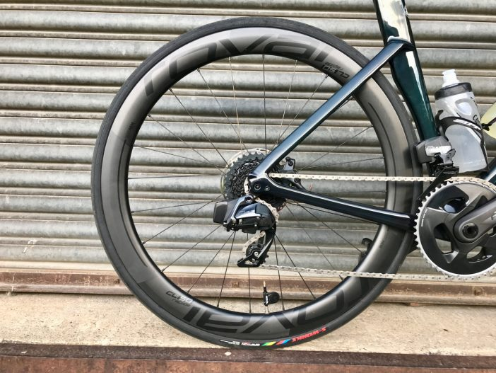 Roval CL 50 Disc Wheelset Review // Rear Wheel
