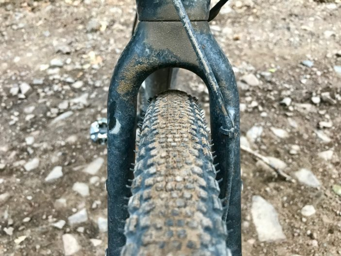 GT Grade Pro Carbon // Front Tire Clearance