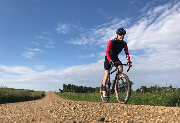 Riding gravel in Minnesota aboard the Open UPPER