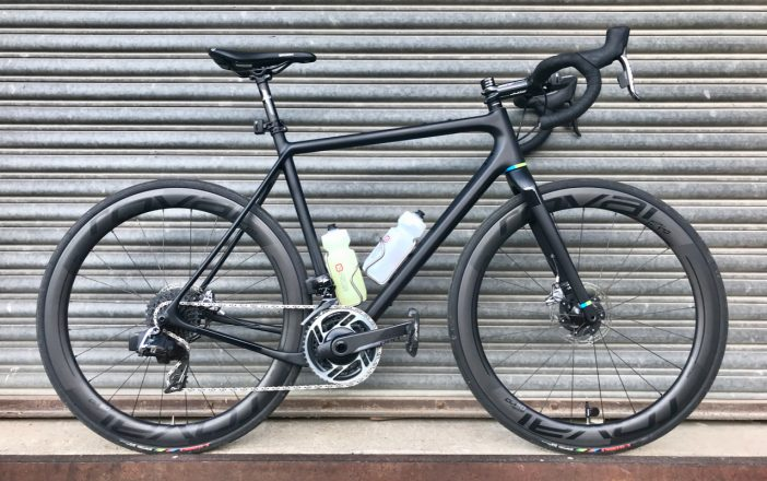 Open UPPER with Roval CL 50 Disc Wheels