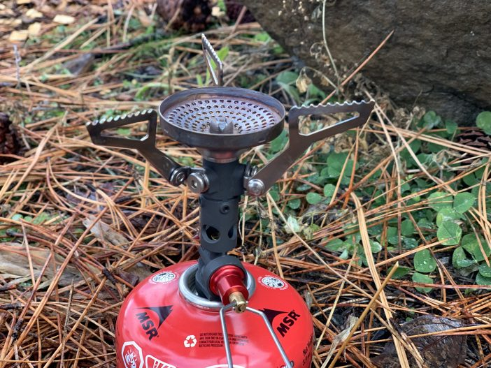 MSR Pocket Rocket Deluxe Stove Review