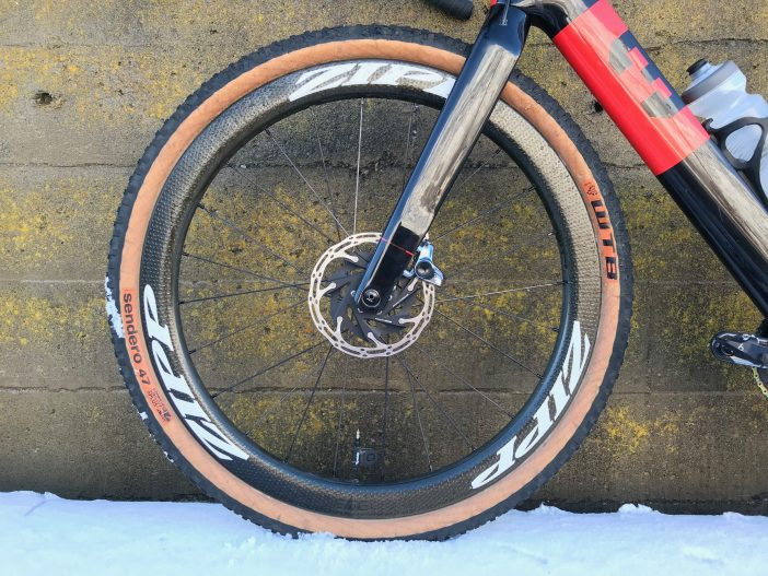Zipp 303 Firecrest 650b Wheelset Review // Front Wheel