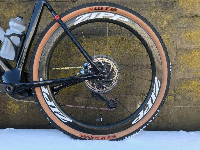 Zipp 303 Firecrest 650b Wheelset Review // Rear Wheel