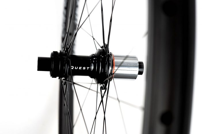 Quest Hubs on Boyd Trailblazer Wheelset