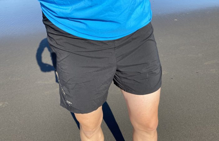 Arc'teryx Motus 6 Shorts Review - Running on Long Beach