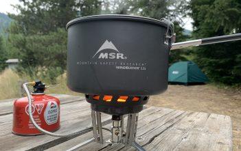 MSR WindBurner Stove System Combo Review
