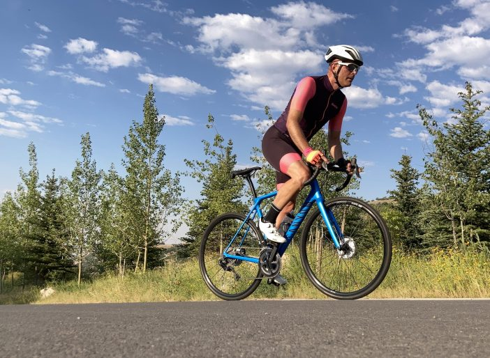 Endurace CF SL Disc 8.0 Di2 Review - Climbing in Fort Canyon