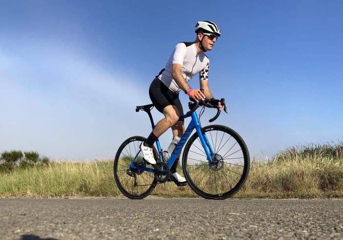 Canyon Endurace Review - Swiftwick Pursuit Ultralight