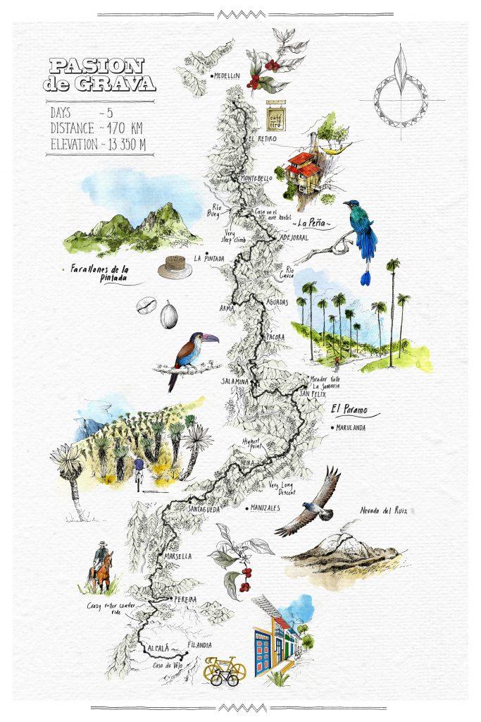 Pasion de Grava Map