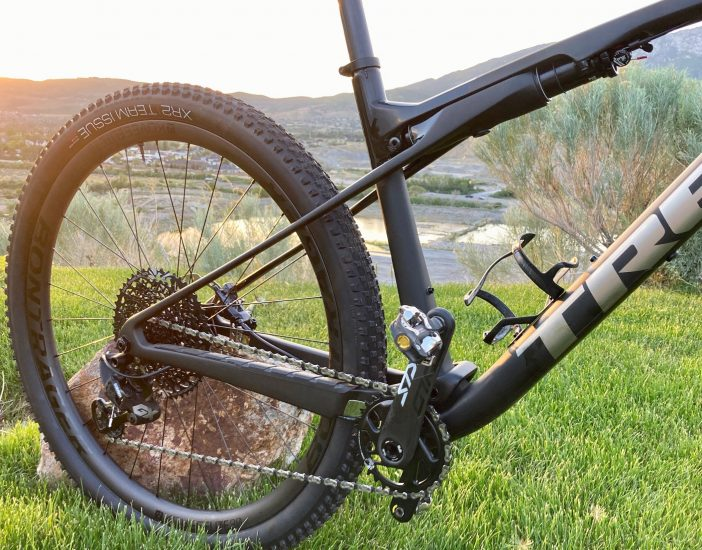 Trek Supercaliber 9.8 - IsoStrut Suspension