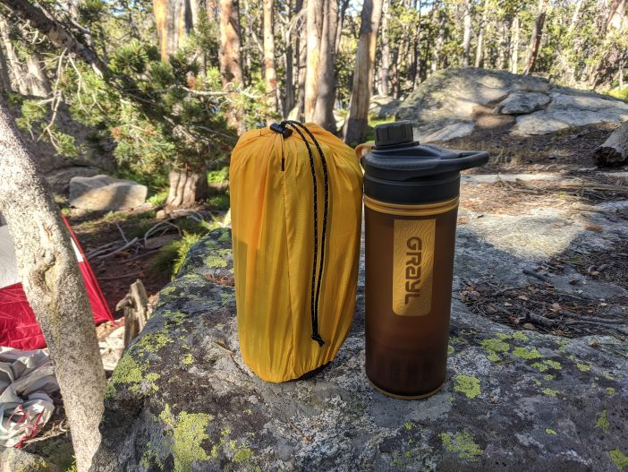 Nemo Tensor Ultralight Sleeping Pad Review - Packed Size
