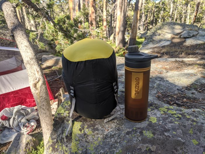 Nemo Riff 30 Sleeping Bag Review - Compressed