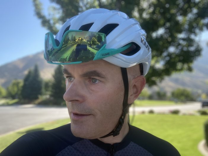 Kask Mojito 3 Helmet Review - Sunglasses Storage