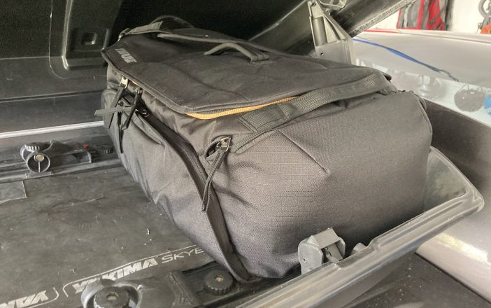 Thule RoundTrip Bike Duffel Loaded Up