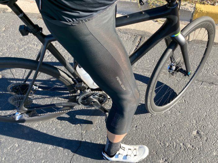 Pearl Izumi Thermal Cycling 3/4 Bib Tight Review - Leg Details