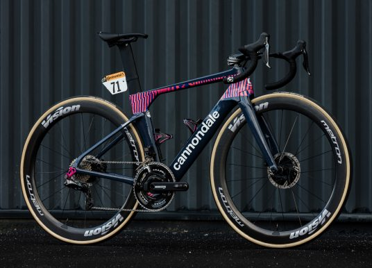 Win Rigoberto Uran's Cannondale SystemSix from 2020 Tour de France
