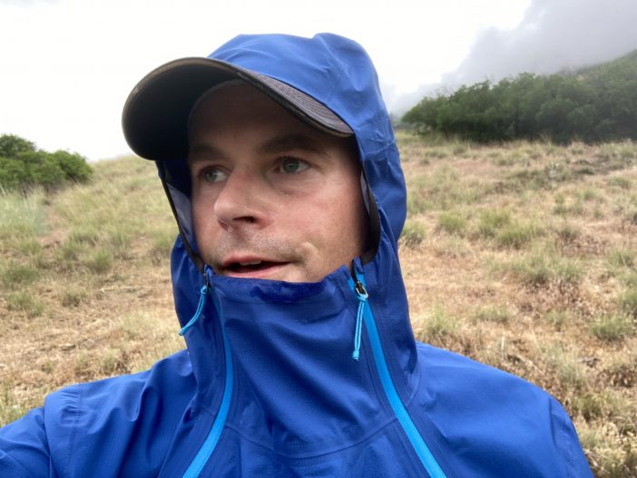 Patagonia Storm Racer Jacket Review - Hood Detail