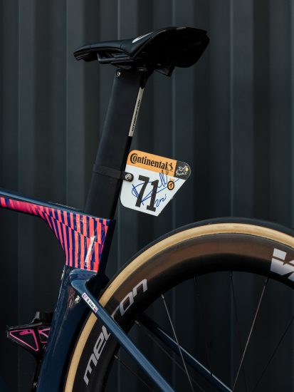 Rigoberto Uran's Signed Cannondale SystemSix