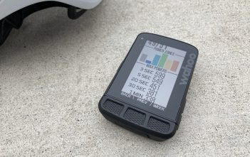 Wahoo ELEMNT ROAM Review - Power Zones