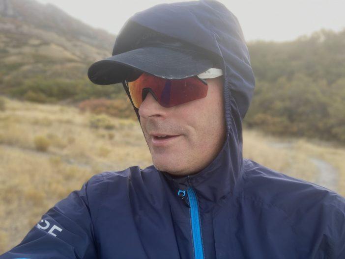 GORE R7 Partial Gore-Tex Infinium Hooded Jacket Review - Hood Details