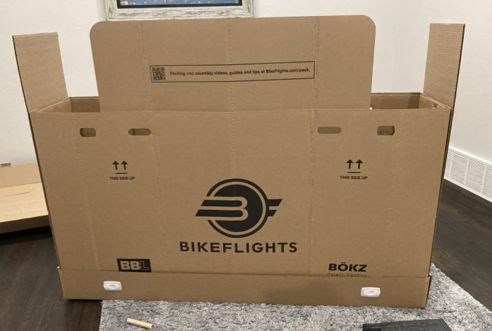Bike Flights Large Shipping Box - Assembled