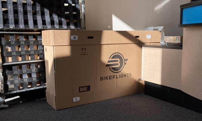 BikeFlights Large Shipping Box Review - UPS Drop-off