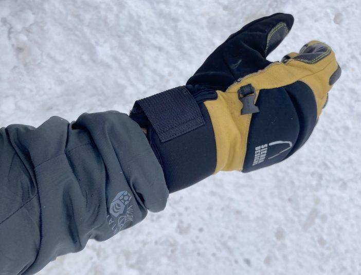 Mountain Hardwear Kor Strata Hoody Review - Sleeve Cuffs