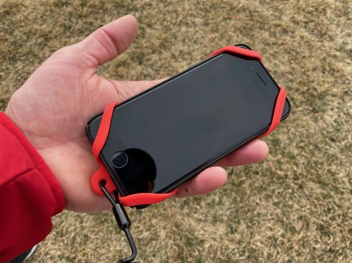 KOALA Super-Grip Smartphone Harness Review - Frontside