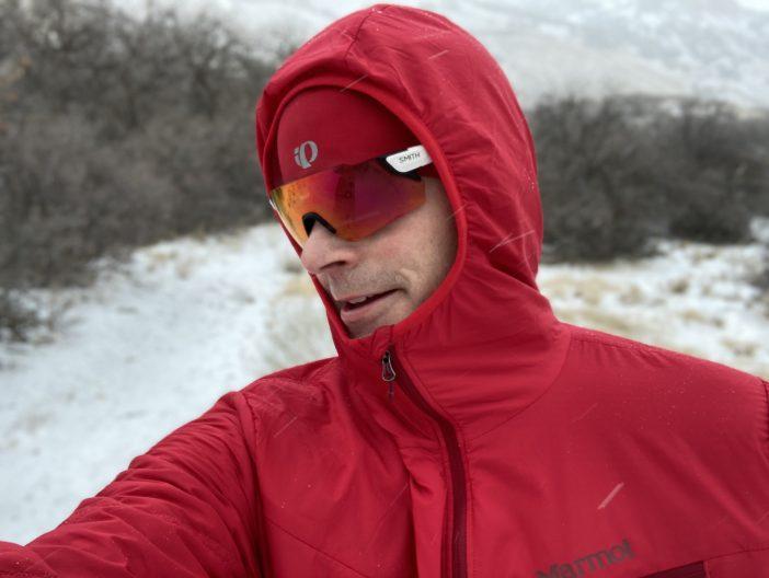 Marmot Alpha 60 Jacket Review - Hood Stays Put