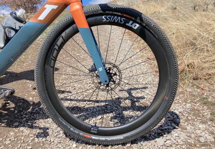 DT Swiss GRC 1400 Spline 650b Wheelset Review - Front Wheel