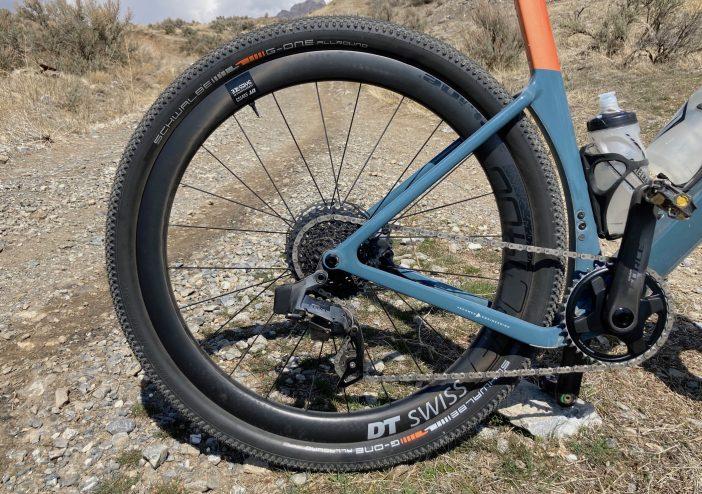 DT Swiss GRC 1400 Spline 650b Wheelset Review - Rear Wheel
