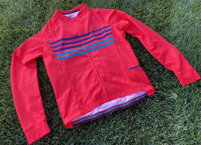 Bontrager Circuit Long Sleeve Jersey Review - Radioactive Red and Teal