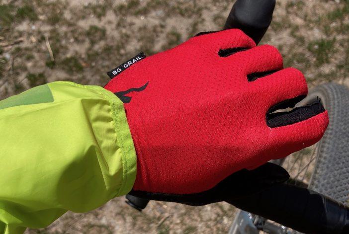 Specialized BG Grail Long-finger Gloves Review - Mesh uppers