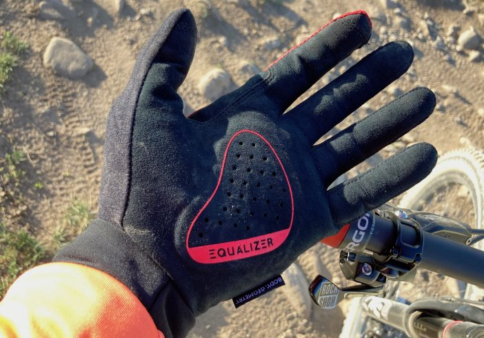 Specialized BG Grail Long-finger Gloves Review - Equalizer Palm Pad
